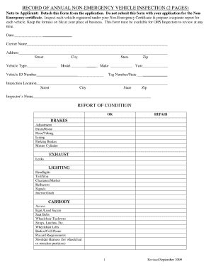 20 printable vehicle maintenance record forms and