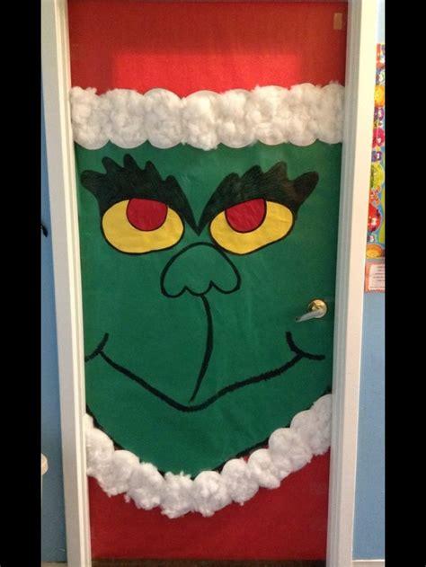 the grinch door decoration grinch seuss christmas