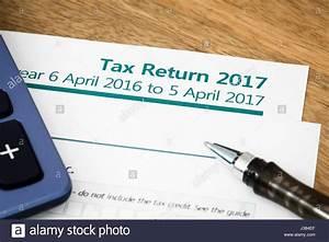 Tax Return Form Hmrc Stock Photos & Tax Return Form Hmrc ...