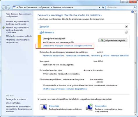 sauvegarde bureau windows 7 comment arreter la sauvegarde windows 7