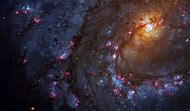 Outer Space Stars Galaxy