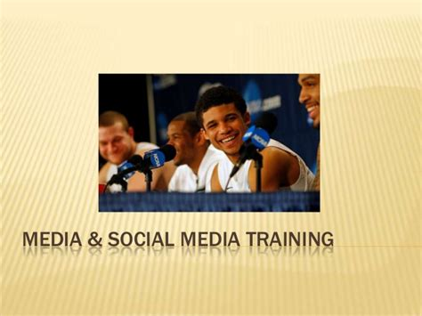 media courses media and social media for student athletes