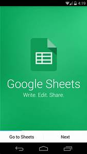 stand alone google docs sheets apps now available in With google docs app play store