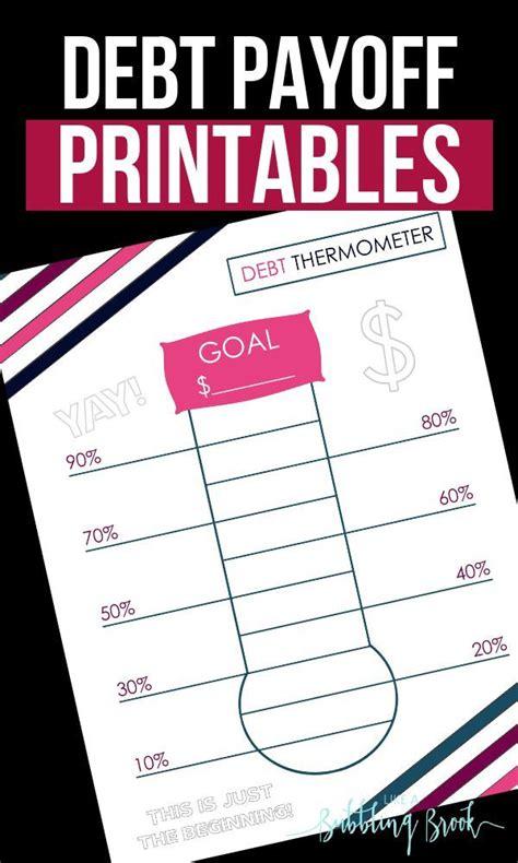 debt thermometer printable  debt  budget