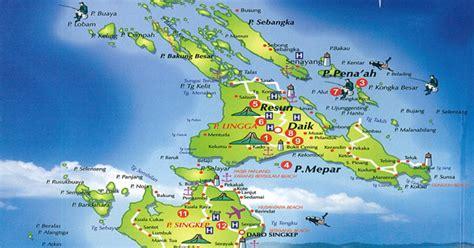 peta lengkap indonesia peta kabupaten lingga provinsi