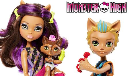Monster High Family Clawdeen Wolf, Barker & Weredith Doll