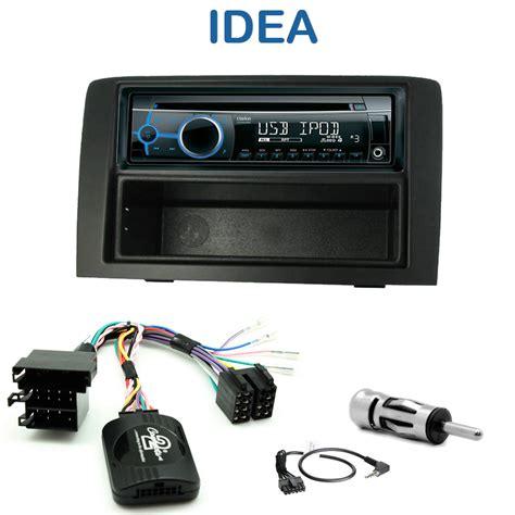 poste cd usb autoradio 1 din fiat idea avec cd usb mp3 bluetooth fiat
