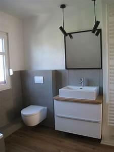 Weißer Tisch Mit Holzplatte : die 25 besten ideen zu beton badezimmer auf pinterest armaturen moderne badezimmer und ~ Bigdaddyawards.com Haus und Dekorationen
