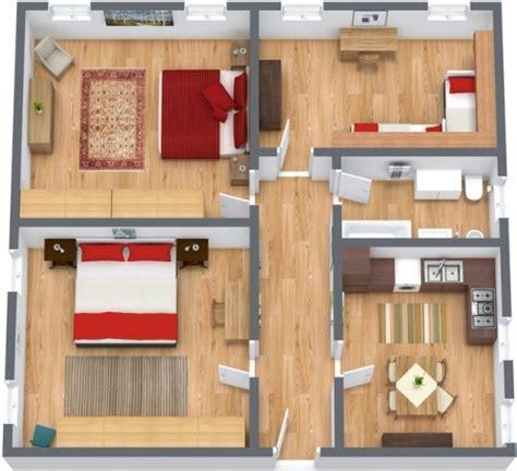 planimetria da letto appartamento venezia biennale con 3 camere da letto