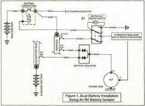 Battery Separator Wiring Diagram