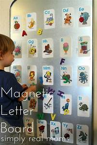 make the alphabet fun for your toddler with this magnetic With magnetic alphabet letters and board