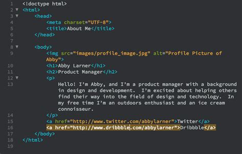 Learn to Code Series Create an About Page with HTML