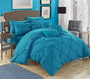 Chic, Home, Valentina, 10, Piece, Bed, In, A, Bag, Comforter, Set