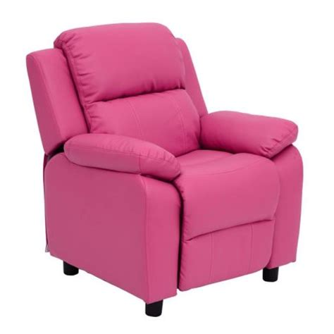Child Recliner Chair Walmart by Homcom Pu Leather Sofa Recliner Chair