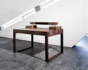 Schreibtisch Wohnzimmer Lösung : schreibtisch worauf sie beim kauf achten m ssen sch ner wohnen ~ Markanthonyermac.com Haus und Dekorationen