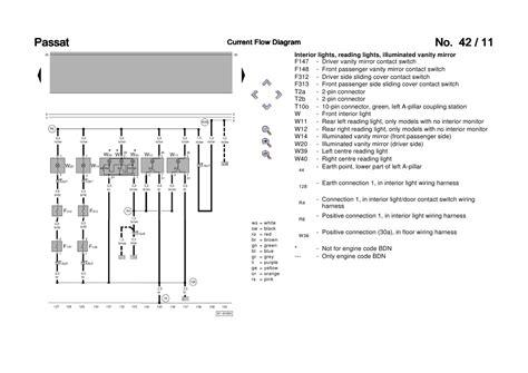 Passat Central Locking Wiring Diagram by Passat B5 3b6 Convenience Wiring Diagram
