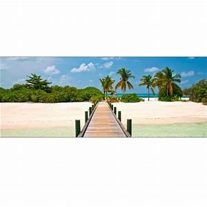 Brise Vue Décoratif : brise vue d co ponton maldives art d co stickers ~ Preciouscoupons.com Idées de Décoration