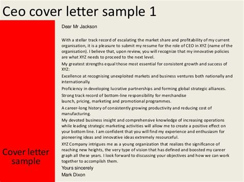 Ceo Application Cover Letter.Cover Letter Examples Ceo Position