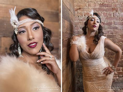 Harlem Renaissance Inspired Wedding Shoot Featured On