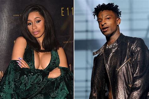 cardi b got rich they upset fmtrends cardi b and 21 savage on quot bartier cardi quot new track