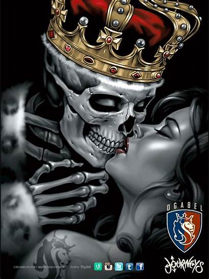 Abel Og Chicano Tattoos Skull Queens Many