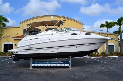 Chaparral Cruiser Boats For Sale by Used 2002 Chaparral 260 Signature Cruiser Boat For Sale In