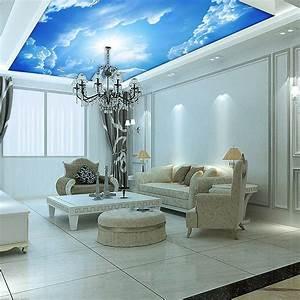 Aliexpress.com : Buy Custom murals, 3d blue sky ceiling ...