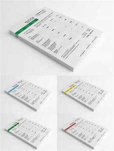 psd clean invoice template With invoice mockup psd free