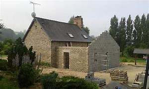 Construction Maison En Pierre : extension en pierre d 39 une habitation nos chantiers de ~ Melissatoandfro.com Idées de Décoration