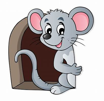 Mouse Hole Clipart Mauseloch Stickers Cartoon Door