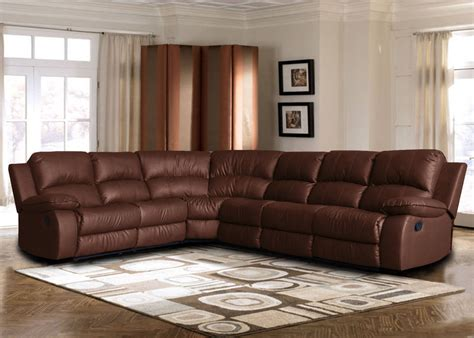 large sectional sofas with recliners large bonded leather sectional sofa with reclining end