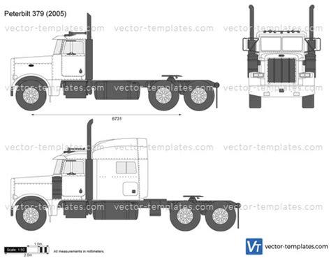 templates trucks peterbilt peterbilt
