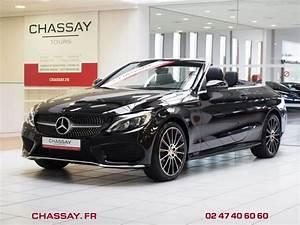 Mercedes Cabriolet Occasion : mercedes classe c cabriolet a205 250 211 ch sportline 9g tronic cabriolet noir occasion 52 900 ~ Medecine-chirurgie-esthetiques.com Avis de Voitures