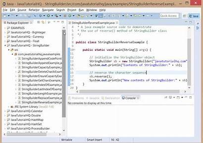 Stringbuilder Reverse Example Java Method