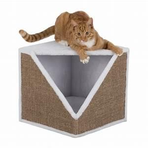 Maison Pour Chat Extérieur : cube griffoir ofelia maison pour chat trixie wanimo ~ Premium-room.com Idées de Décoration