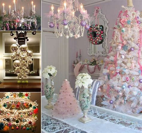 25+ Creative Christmas Chandelier Decorating Ideas
