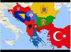 Real Balkan Map YouTube