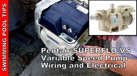 Superflo And Motor Wiring Diagram by How To Wire A Pentair Superflo 174 Vs Variable Speed