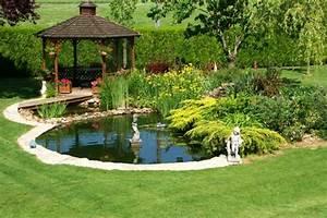 27 idees pour le bassin de jardin preforme hors sol With prix d un bassin de jardin