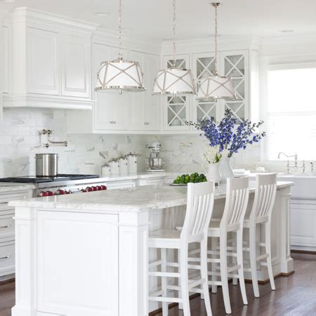 Home Dzine Kitchen  Allwhite Kitchen Ideas
