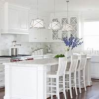 all white kitchen HOME DZINE Kitchen | All-white kitchen ideas