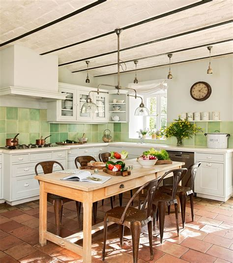 azulejos antiguos cocina cocinas rusticas cocinas