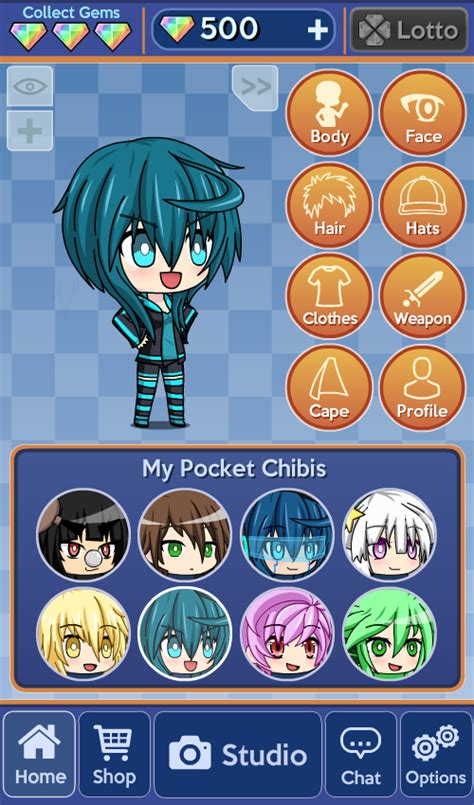 anime chibi dress up pocket chibi anime dress up android apps on play