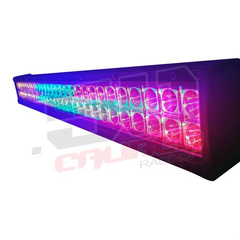 multicolor 32 inch led light bar with wireless