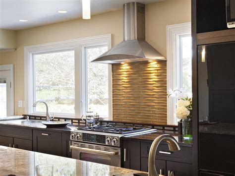 stainless steel backsplashes pictures ideas  hgtv