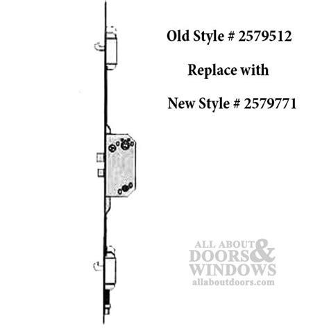 Unavailable Andersen Multipoint Lock, FWH68 Active Door