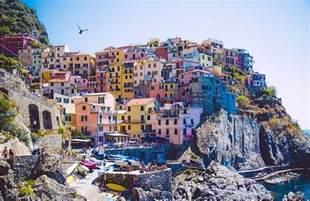 Les Cinq Terres En Italie Carte by Les 5 Terres En Italie Voyages Cartes