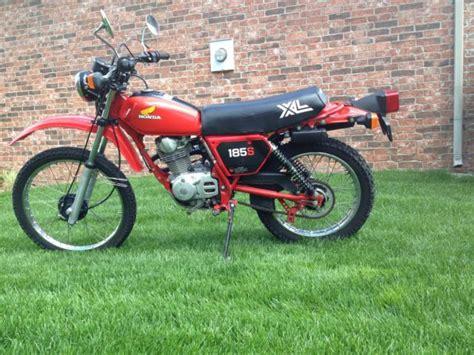 1982 Honda Xl185s Enduro Vintage Dual Sport Motorcycle