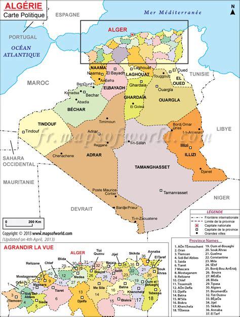 Carte Algerie Villes by Cartes D Alg 233 Rie Carte Routi 232 Re Touristique