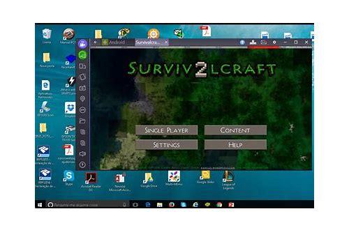como baixar survivalcraft 2 pc gratis